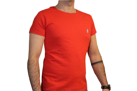 GG Red T-Shirt with Initials For Men