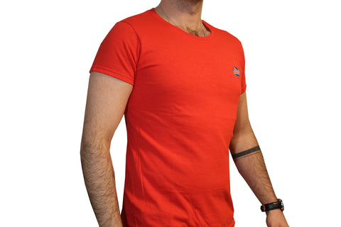 GG Red T-Shirt with Full Logo For Men