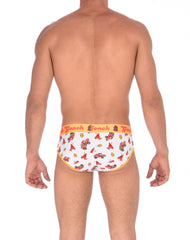 GG Fire Fighters Men's Low Rise Brief Underwear