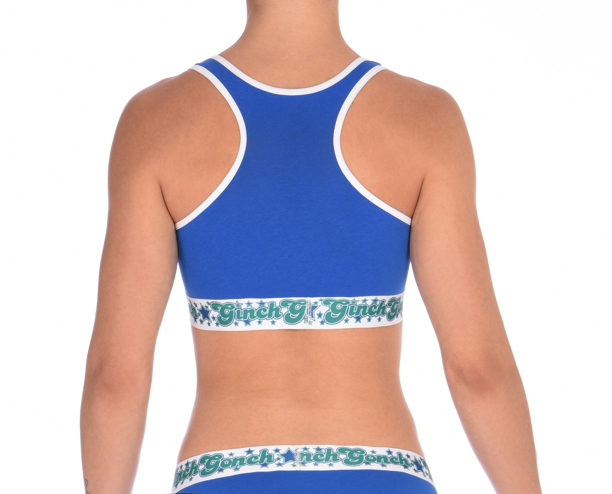 Blue Lagoon Sports Bra