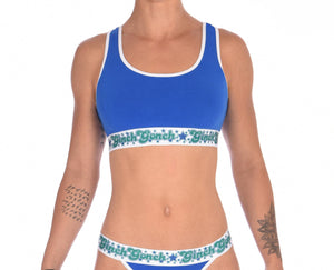 Blue Lagoon Women's Sports Bra