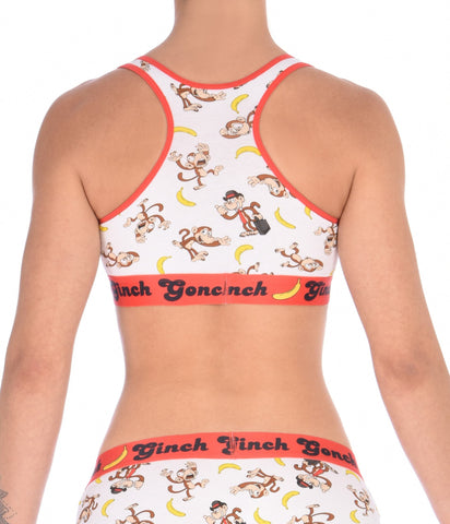 Gone Bananas Women's Sports Bra