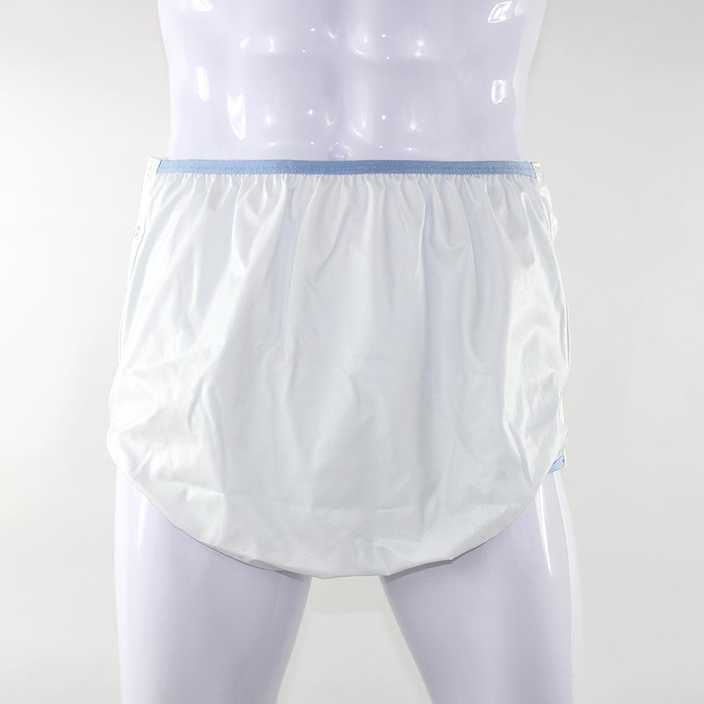 KINS Adult Polyester Snap Waterproof Pant Diaper Cover 10200SP - DISCONTINUED