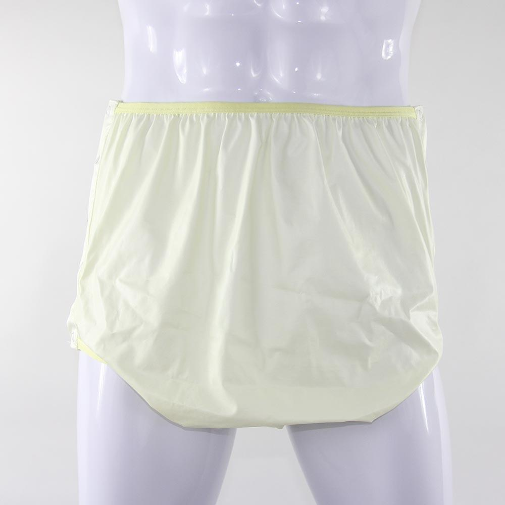 KINS Adult Polyester Snap Waterproof Pant Diaper Cover 10200SP