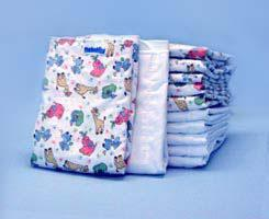 Flat Prefold Cloth Baby Diaper 89100
