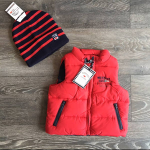 WEALM Baby Boy Red Body Warmer