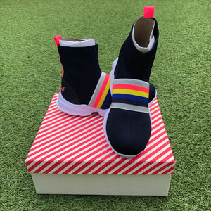Billieblush Stripe Sneakers