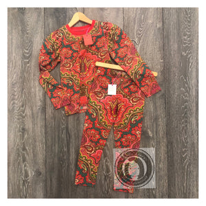 Oilily Paisley Red Top