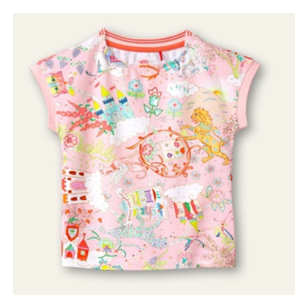 Oilily Tascha Castle in the Cloud T-Shirt