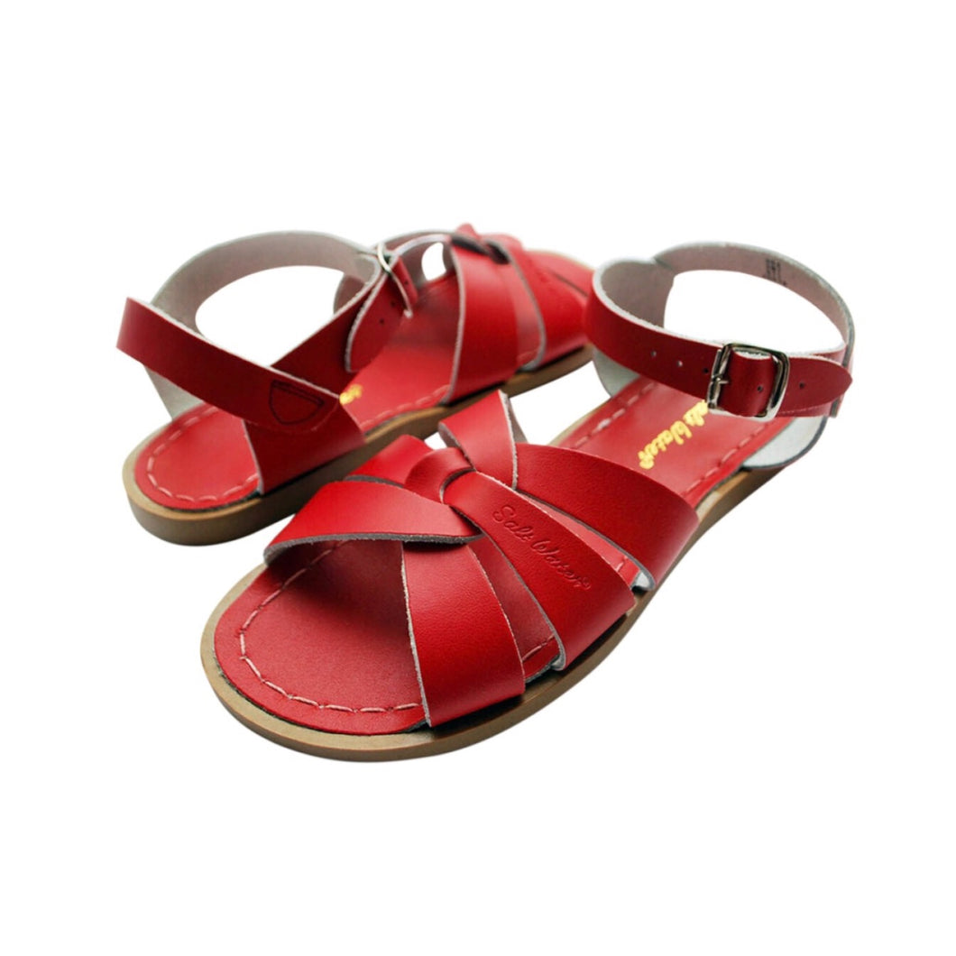 Salt-Water Sandals Red