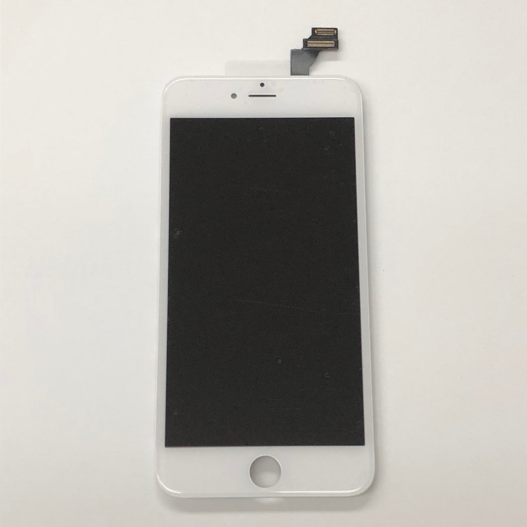 WHITE LCD ASSEMBLY FOR IPHONE 6 Plus (MIDGRADE QUALITY)