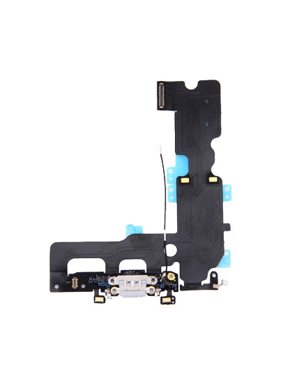 CHARGING PORT FLEX CABLE FOR IPHONE 7 (SILVER)