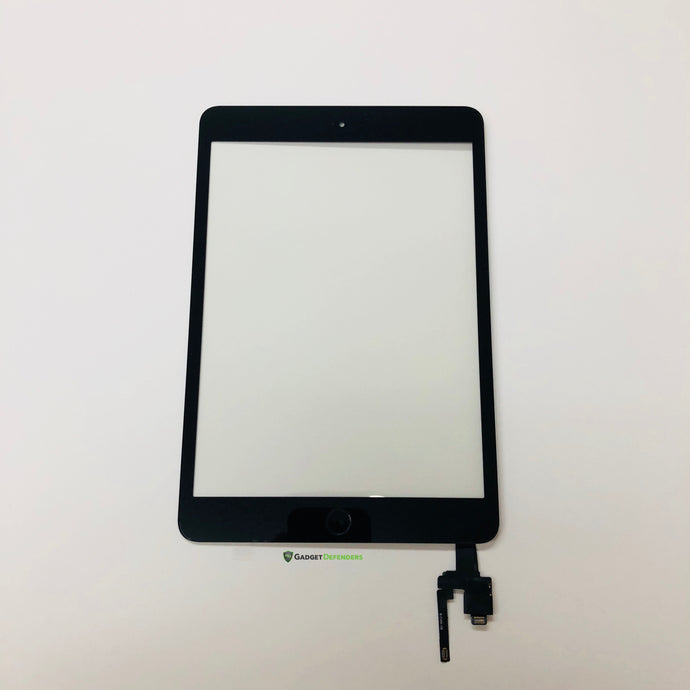 Black Touch Screen Glass Digitizer Assembly For IPad Mini 3rd Generation
