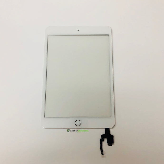White Touch Screen Glass Digitizer Assembly For IPad Mini 3rd Generation