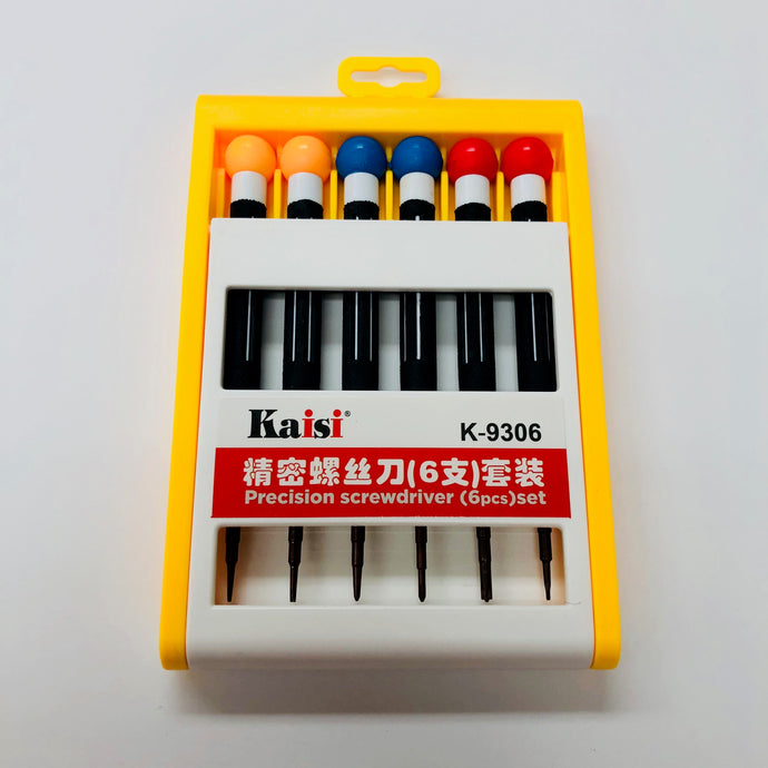 KAISI 6PCS SCREWDRIVER SET