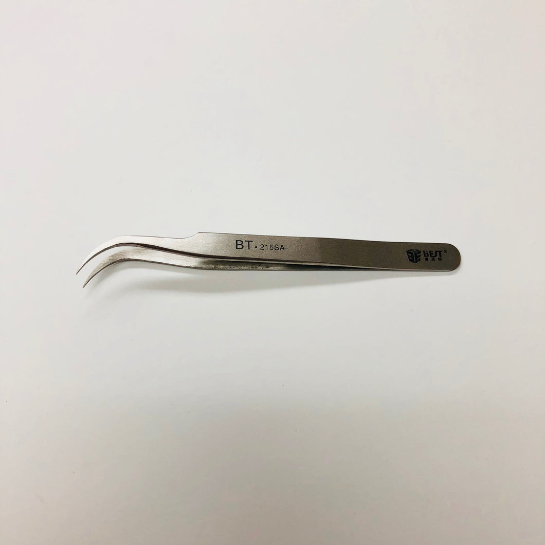 BEST BT-215SA STAINLESS STEEL TWEEZERS