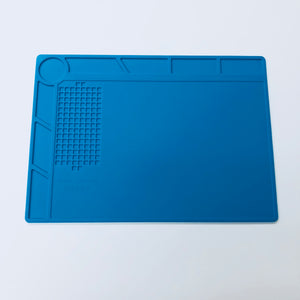 SILICONE WORK PAD WITH SCALE PLATE 350MM X 250MM