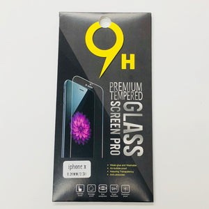 TEMPERED GLASS FOR IPHONE X (CLEAR) (FRONT)