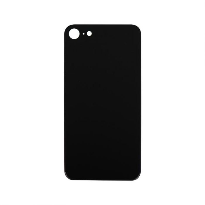 Glass Back Cover Black - NO LOGO for iPhone 8