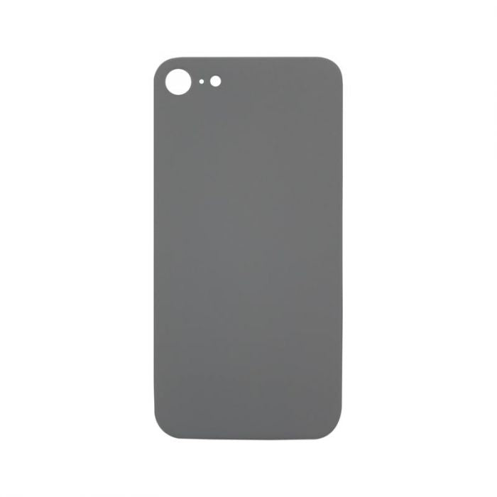 Glass Back Cover White - NO LOGO for iPhone 8
