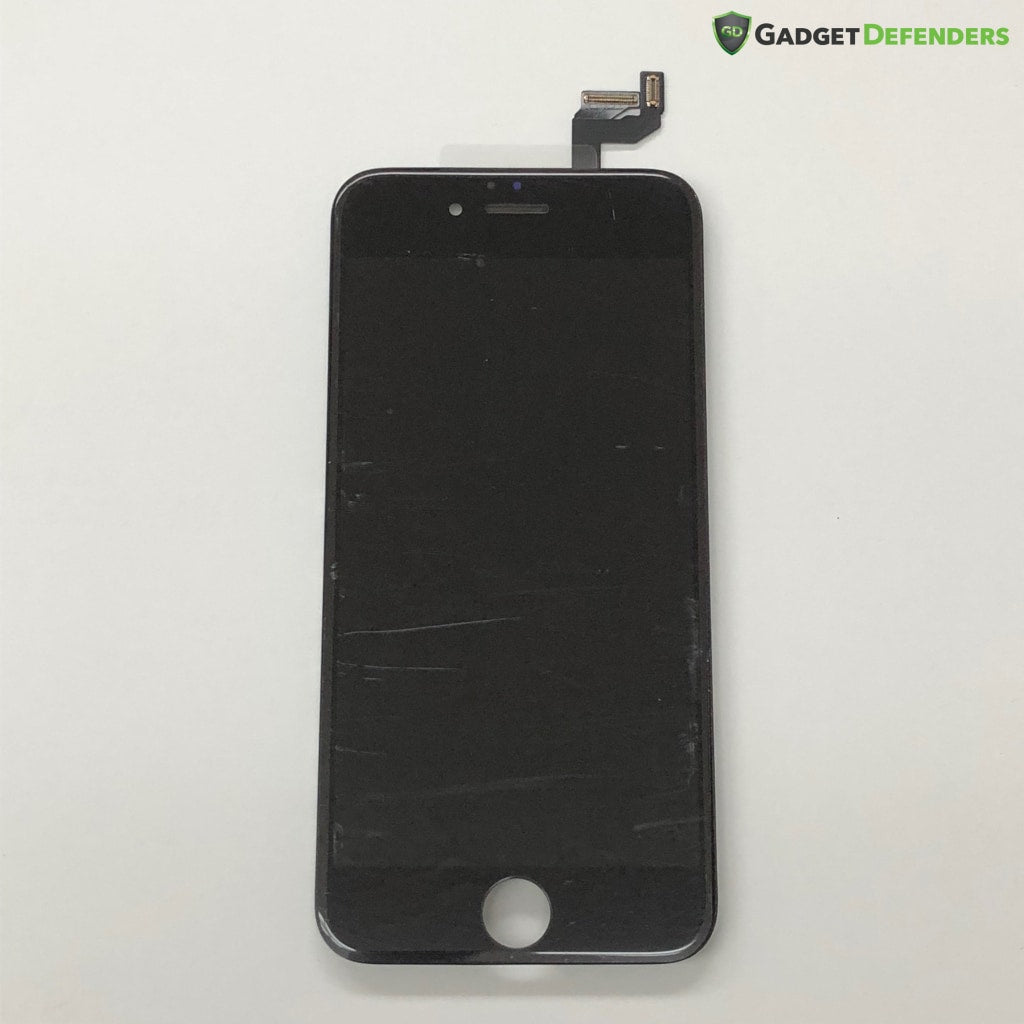 Black Lcd Assembly With Force Touch Panel For Iphone 6S (Midgrade Quality) Simple