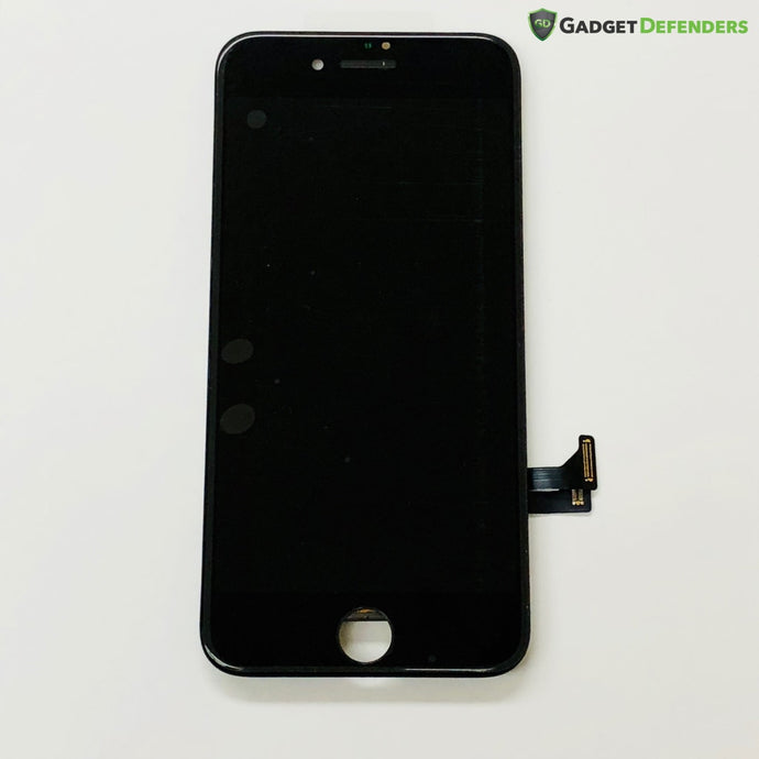 Black Lcd Assembly With Force Touch Panel For Iphone 8 (Midgrade Quality) Simple