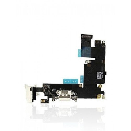 Charging Port Flex Cable For iPhone 6 Plus (Silver)