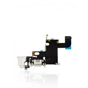 Charging Port Flex Cable For iPhone 6 (Silver)