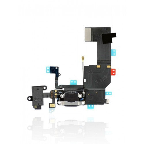 Charging Port Flex Cable For iPhone 5C (Black)