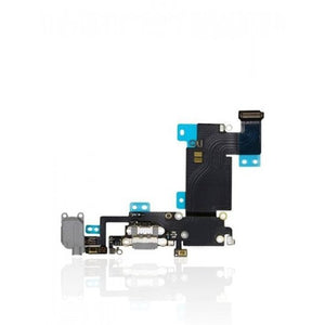 Charging Port Flex Cable For iPhone 6S Plus (Space Grey)