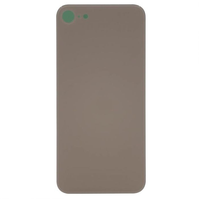 Glass Back Cover Gold - NO LOGO for iPhone 8