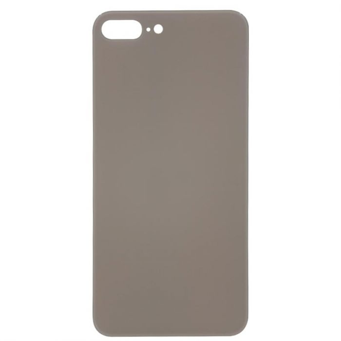 Glass Back Cover Gold - NO LOGO for iPhone 8 Plus