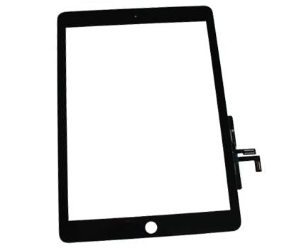 BLACK DIGITIZER FOR IPAD AIR 1 / IPAD 5 (2017) (PREMIUM QUALITY)