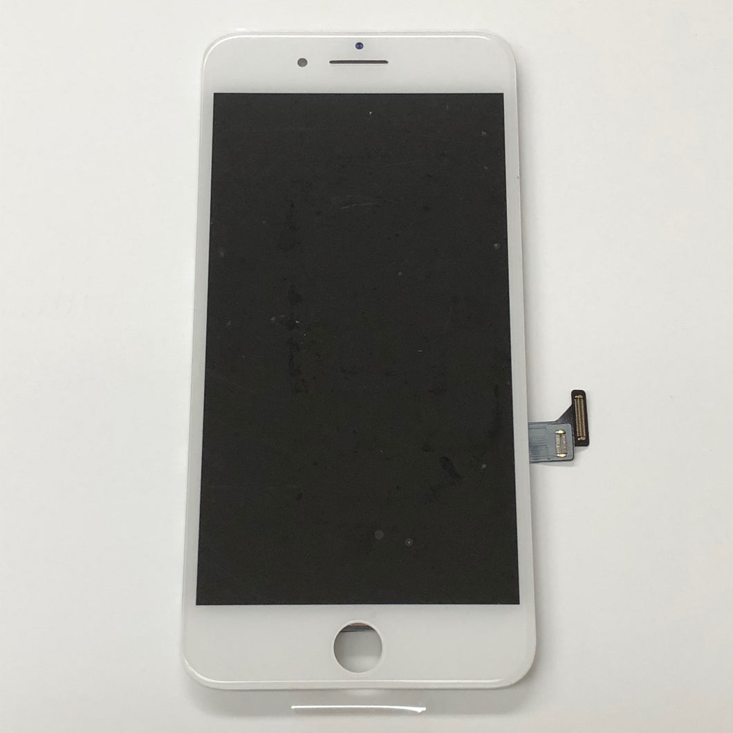 WHITE LCD ASSEMBLY WITH FORCE TOUCH PANEL FOR IPHONE 7 PLUS (Aftermarket)