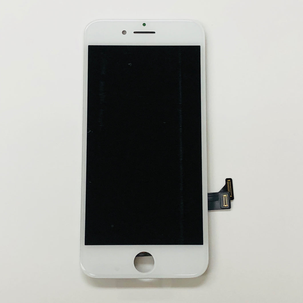 WHITE LCD ASSEMBLY WITH FORCE TOUCH PANEL FOR IPHONE 8 (Aftermarket)
