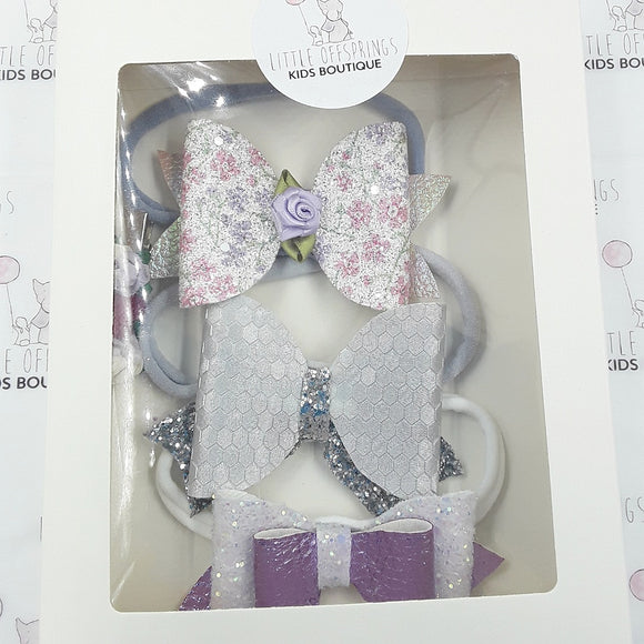 4 Pack Gift Box - Lilac