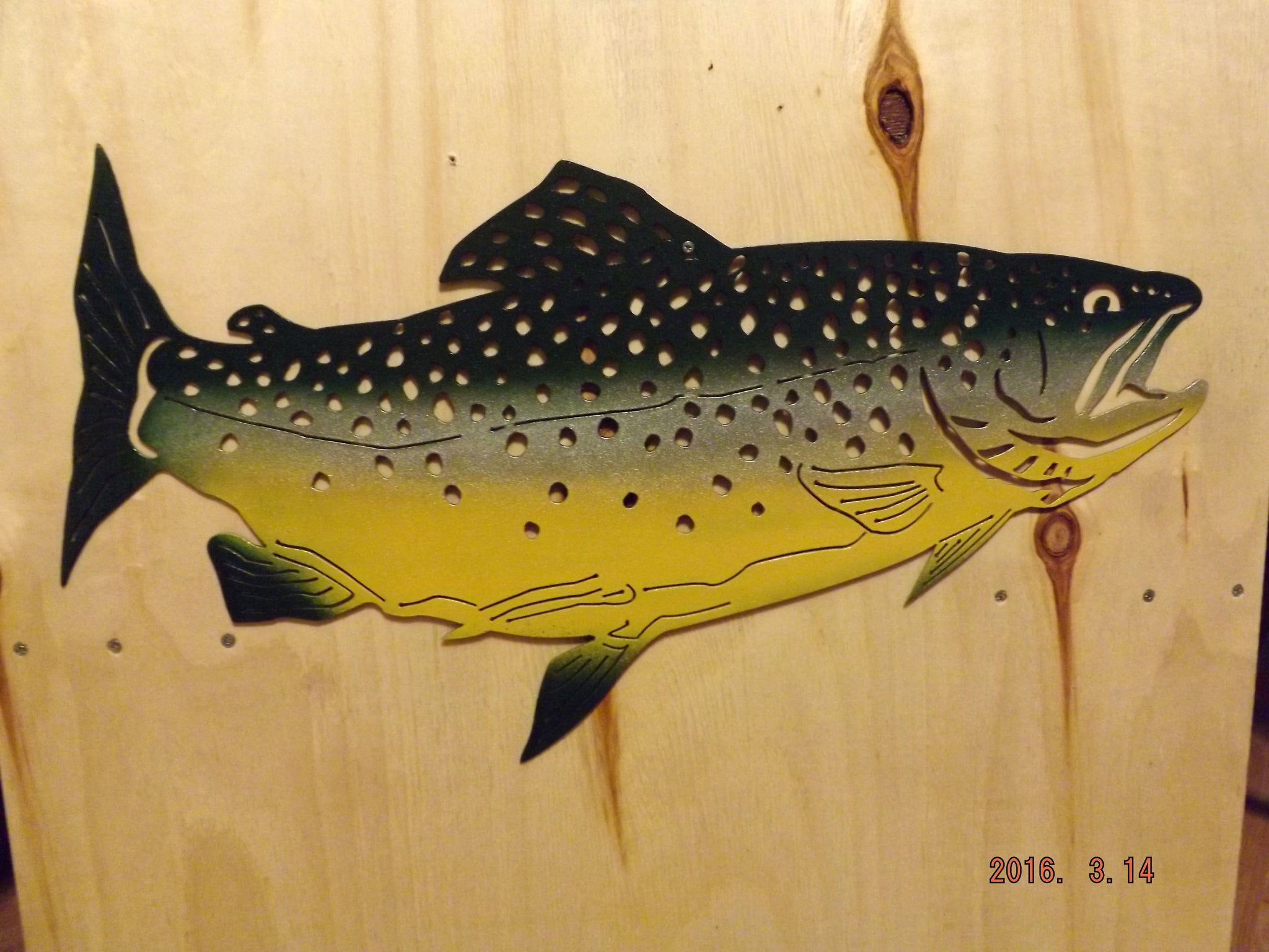 Famous Metal Fish Wall Art Contemporary - The Wall Art Decorations ...