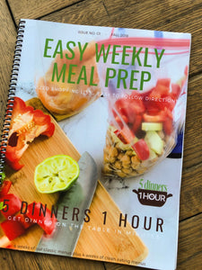 Fall 2018 2 month Meal Plan Cookbook