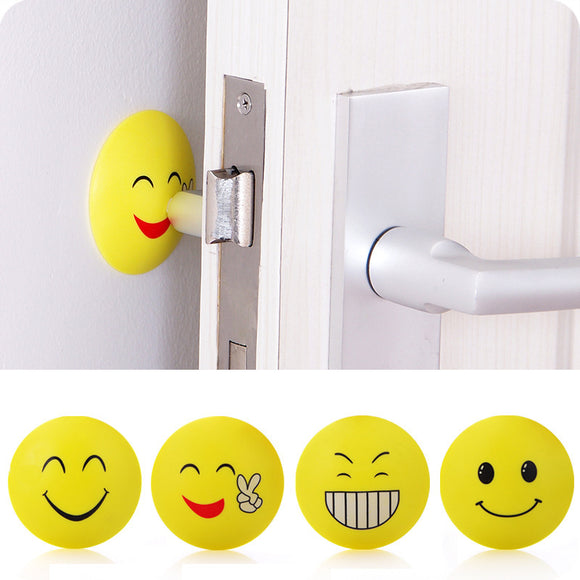 3pcs EMOJI Rubber Door Stopper | Self-Sticking