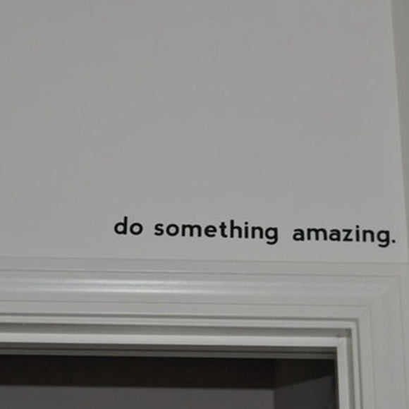 Inspirational Bathroom Wall Decal -