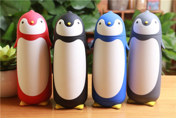 Penguin Stainless Steel Thermos | Kids Thermal Insulated Flask For HOT or COLD