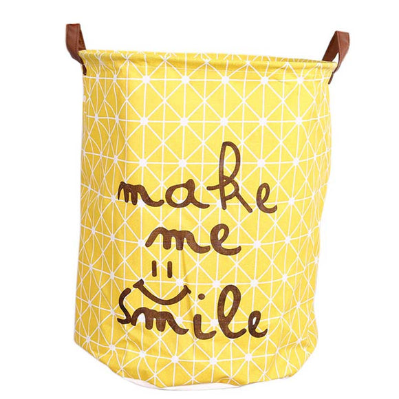 NEW! Fun Cotton Storage (or Laundry) Hampers For Your Home