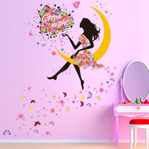 NEW Magical Fairy Decals - Sitting On The Moon