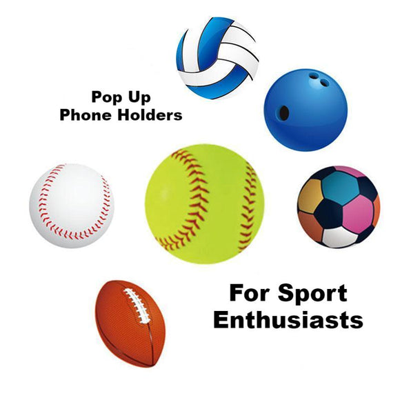 Pop Up Phone Holder, Grip and Stand | Sport Designs