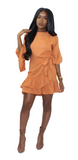 Spice Wrap Dress, Dress, - Virago Boutique