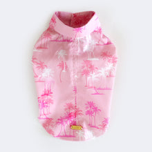 Palm Roll up Shirt - Pink