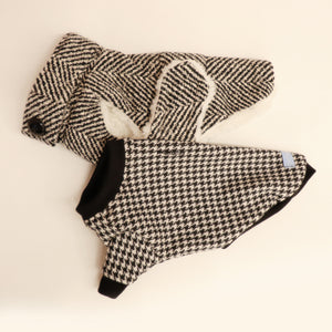 Houndstooth Sweater Top