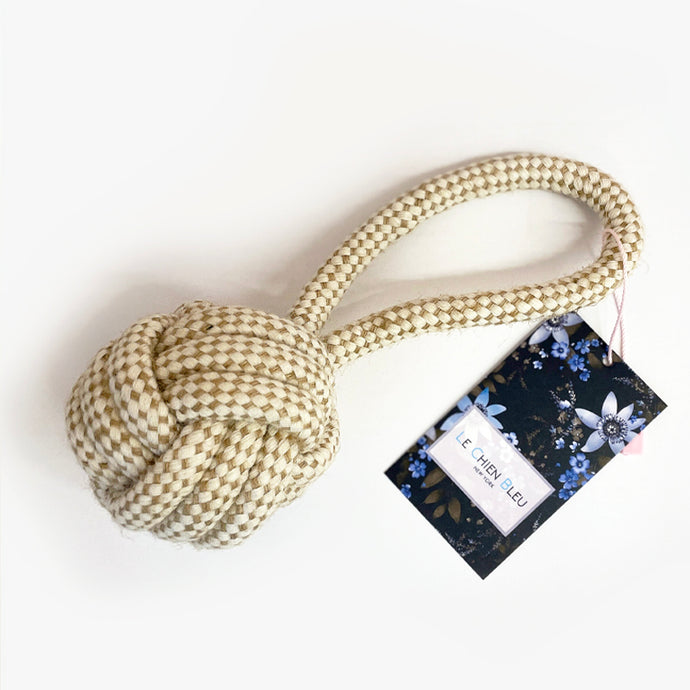 100% Cotton Rope Toy - Ball