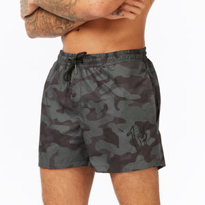Signature Swim Short - Green Camo