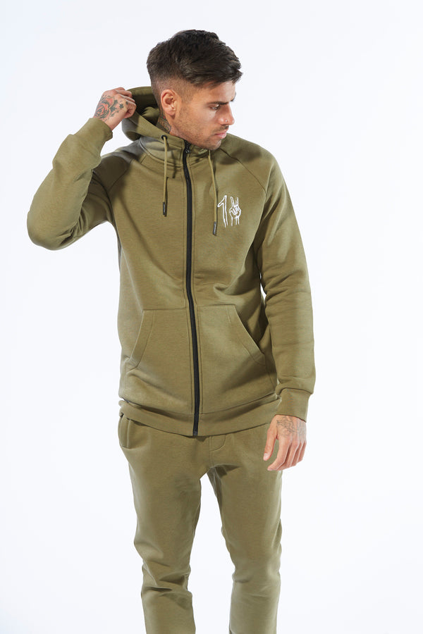 One Peace Track Top - Khaki